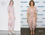 Lauren Cohan In Stella McCartney, Sally LaPointe & Prabal Gurung - 'The Walking Dead' Promo Tour
