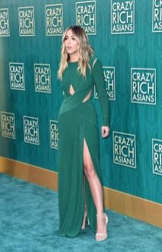 Chloe Bennet In Tadashi Shoji - 'Crazy Rich Asians' LA Premiere