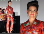 Evangeline Lilly In Etro - 'Ant-Man And The Wasp' Osaka Premiere