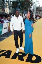 Idris Elba and Sabrina Dhowre attend the Premiere of 'Yardie'
