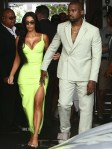 Kim Kardashian In Atsuko Kudo & Kanye West In Louis Vuitton - 2 Chainz Wedding
