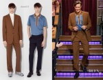 Matt Smith In dunhill - The Late Late Show with James Corden