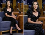 Mila Kunis In Dolce & Gabbana - The Tonight Show Starring Jimmy Fallon
