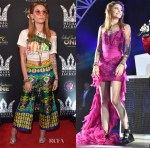 Paris Jackson In Gucci & Balmain - Michael Jackson Diamond Birthday Celebration