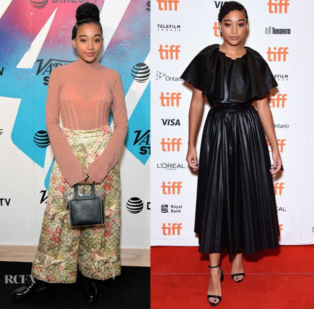 Amandla Stenberg In Ellery & Huishan Zhang - 2018 Toronto International Film Festival