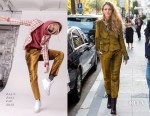 Blake Lively In Rag & Bone - Out In Paris