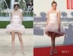 Chloe Sevigny In Chanel Haute Couture - 'L'Annee Derniere a Marienbad' Venice Film Festival Premiere