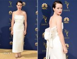 Claire Foy In Calvin Klein by Appointment - 2018 Emmy Awards
