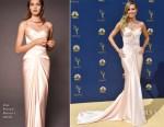 Heidi Klum In Zac Posen - 2018 Emmy Awards