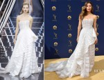 Jessica Biel In Ralph & Russo Couture - 2018 Emmy Awards