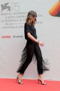 Kasia Smutniak In Alberta Ferretti Limited Edition - 'The Armadillo's Prophecy (La Profezia Dell'Armadillo)' Screening