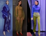 Kendall Jenner In Sally LaPointe, Paula Knorr & Tom Ford - The Tonight Show Starring Jimmy Fallon