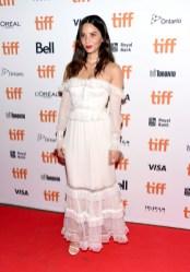 Olivia Munn In Jonathan Simkhai - 'The Predator' Toronto International Film Festival Premiere