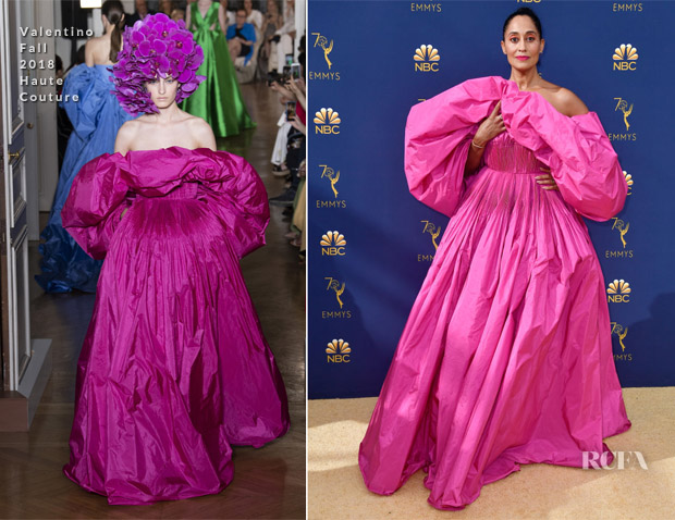 Tracee Ellis Ross In Valentino Haute Couture - 2018 Emmy Awards