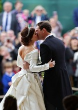 Princess Eugenie of York Weds Jack Brooksbank In Peter Pilotto
