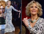 Jane Fonda In Roberto Cavalli - 10th Lumiere Film Festival