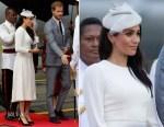 Meghan, Duchess Of Sussex In Zimmerman - Fiji Visit