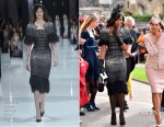 Naomi Campbell In Ralph & Russo Couture - Princess Eugenie Of York's Wedding