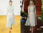 Nicole Kidman In Emilia Wickstead - The Ellen DeGeneres Show