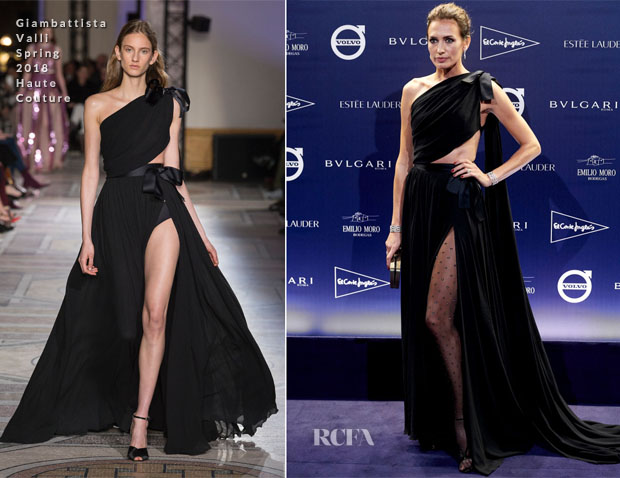 Nieves Alvarez In Giambattista Valli Haute Couture - 'TELVA Tributo. Una Cronica De Moda. Coleccion Naty Abascal' Photocall