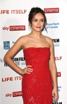 Olivia Cooke In Prada - 'Life Itself' London Film Festival Premiere