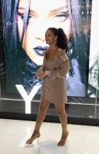 Rihanna In Burberry & Monse - Fenty Beauty Artistry Event & Sephora Launch