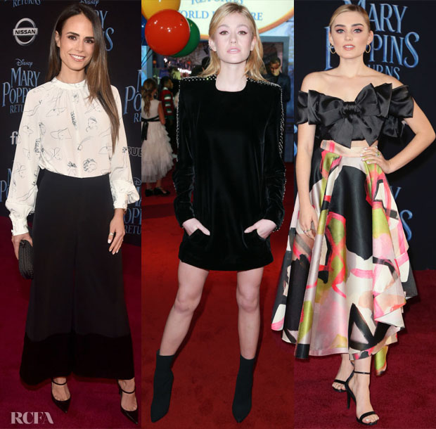 'Mary Poppins Returns' LA Premiere