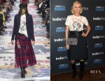 Charlize Theron In Christian Dior - IndieWire Honors 2018