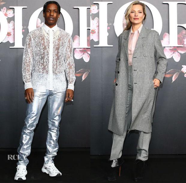 Front Row @ Dior Men Pre-Fall 2019