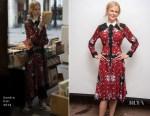 Nicole Kidman In Sandro - 'Destroyer' Press Conference