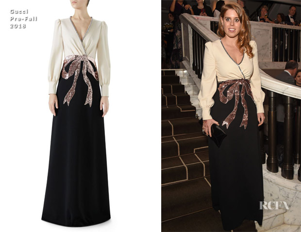 Princess Beatrice In Gucci - 9th Annual Global Gift Gala