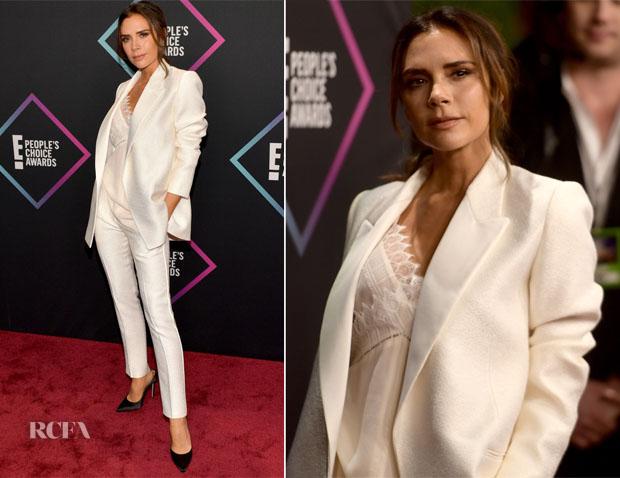 Victoria Beckham In Victoria Beckham - People's Choice Awards 2018