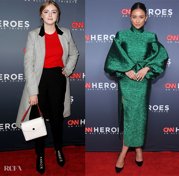 Fashion Blogger Catherine Kallon feature the 12th Annual CNN Heroes: An All-Star Tribute