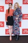 Fashion Blogger Catherine Kallon feature the BBC One's 'Les Miserables' Photocall