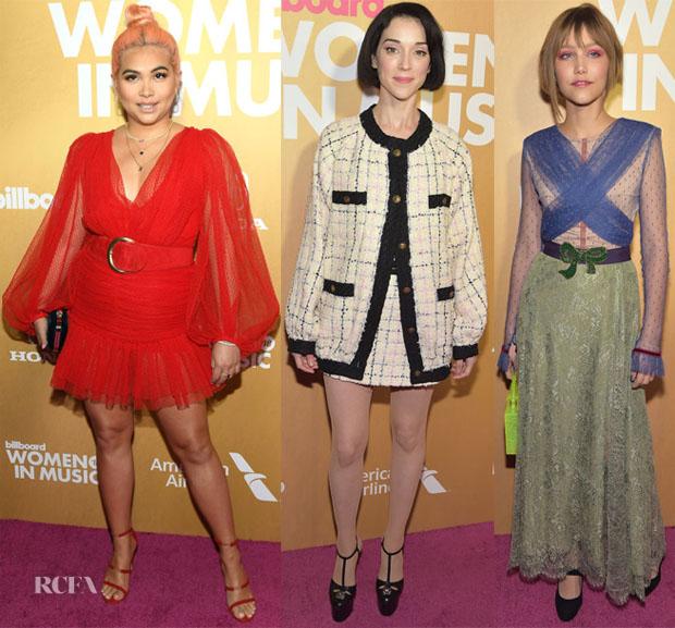 Fashion Blogger Catherine Kallon feature the Billboard Women in Music Awards 2018