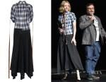 Fashion Blogger Catherine Kallon Cate Blanchett's Loewe Check Shirtdress