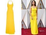 Eiza Gonzalez's Ralph Lauren Montaine Evening Dress