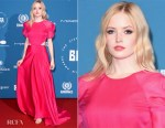 Ellie Bamber In Salvatore Ferragamo - 2018 British Independent Film Awards