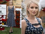 Fashion Blogger Catherine Kallon feature Emma Roberts In Prada - St Jude's Annual Holiday Celebration