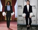 Fashion Blogger Catherine Kallon Features Karen Gillan In Rachel Comey - Build Series