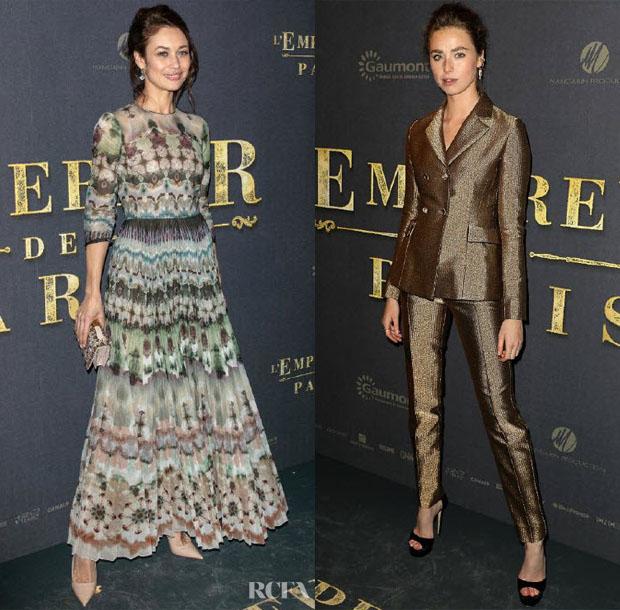 Fashion Blogger Catherine Kallon Features 'L'Empereur De Paris' Paris Premiere
