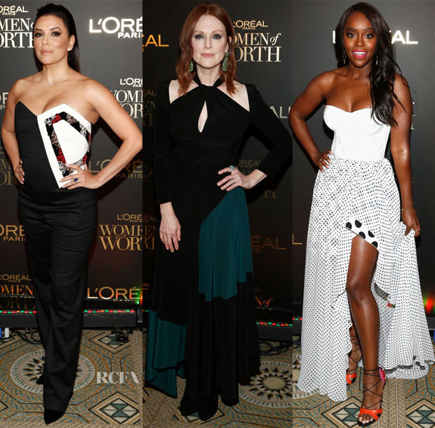 Fashion Blogger Catherine Kallon feature the L'Oréal Paris Women of Worth Celebration 2018