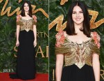 Fashion Blogger Catherine Kallon feature Lana Del Ray In Gucci - The Fashion Awards 2018