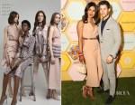 Fashion Blogger Catherine Kallon feature the Priyanka Chopra In Ralph & Russo - Bumble Dating App Mumbai Launch