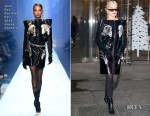 Fashion Blogger Catherine Kallon features Rita Ora In Jean Paul Gaultier Fall 2018 Haute Couture - Out In New York City 'Phoenix'