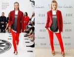 Rosie Huntington Whiteley In Victoria Beckham - ELLE Weekender