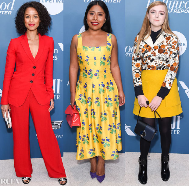 Fashion Blogger Catherine Kallon feature The Hollywood Reporter's Power 100 Women In Entertainment