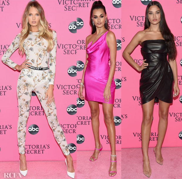 Fashion Blogger Catherine Kallon feature the Victoria's Secret Viewing Party