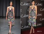 Fashion Blogger Catherine Kallon features Aiysha Hart In Mary Katrantzou - 'Colette' Paris Premiere