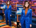 Fashion Blogger Catherine Kallon features Anne Hathaway In Dzojchen - Watch What Happens Live with Andy Cohen